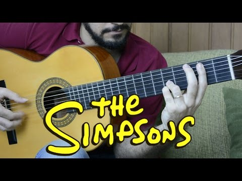 The Simpsons theme - Fingerstyle Guitar (Marcos Kaiser) #101