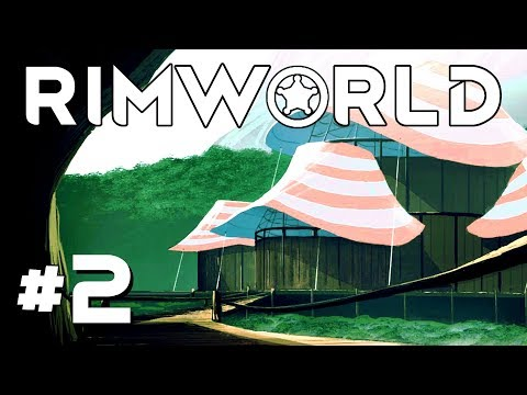 Tree Cutting and Power Production! - Ep. 2 - RimWorld Beta 18 Gameplay