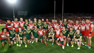 Test Match Highlights: Australia v Tonga
