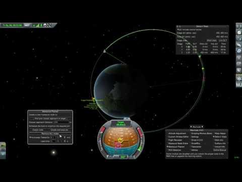 Kerbal Space Program  - Using Mechjeb