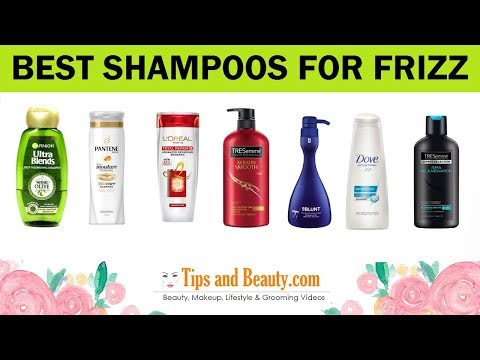 10 Best Shampoos for Frizzy Hair, Dry Hair and Damaged Hair in India