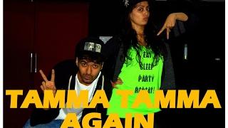 Tamma Tamma Again dance choreography  | Badrinath ki dulhania l Zumba fitness | Vicky & Aakanksha
