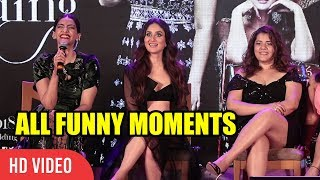 Veere Di Wedding Song Launch Funny Moments | Kareena, Sonam, Swara, Ekta, Rhea