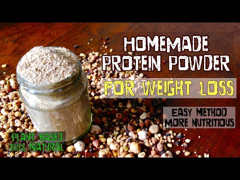 HomeMade Protein Powder | How to make protein powder for weight loss at home| healthy easy Method