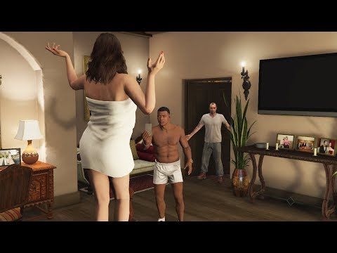What Franklin and Amanda Do In Michael's House After His