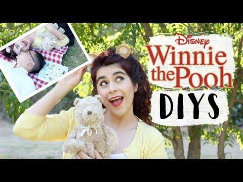 Disney DIYs   Winnie the Pooh Picnic (Decor, Snacks, Ears)