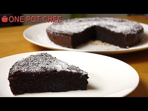 2 Ingredient Chocolate Cake | One Pot Chef