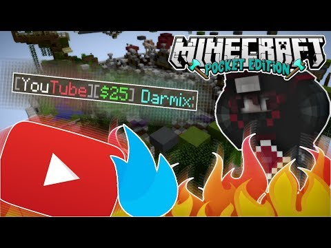 🔥 How To Get A Free YouTube VIP FlareHub Rank Without Subscribers - Minecraft PE Survival Games