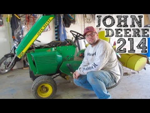 John Deere 214 Oil Change