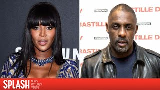 Idris Elba Splits from Girlfriend After Being Spotted with Naomi Campbell   Splash News