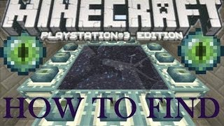 Minecraft Wii U Ps3 Xbox How To Find And Activate The End Portal Play
