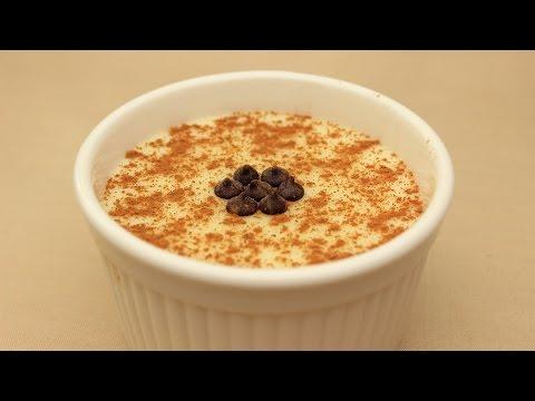 Custard Recipe with Mastic Drops - Turkish Pudding