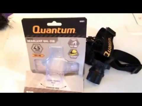 Quantum swivel led headlamp QHL – 310 harbor freight  not bad for 12 bucks