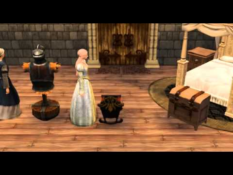 Babies in the Sims 3 Medieval.