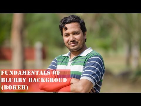 How to blur background with DSLR | Camera Basics |(Hindi)