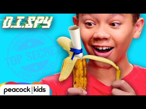 How to Pass A Spy Note (DIY Peel-To-Reveal Banana Message)   D.I.SPY