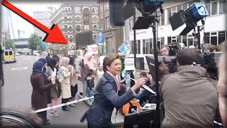 CNN JUST CAUGHT DOING SOMETHING ABSOLUTELY SICK IN THIS VIDEO IN LONDON… WATCH BEFORE DELETED!!!