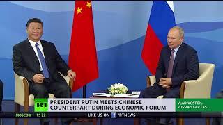 Next step in ditching US dollar? Putin and Xi Jinping meet in Eastern Economic Forum