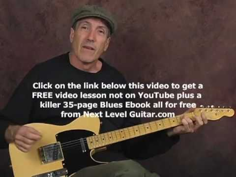 Country guitar learn how to play pedal steel licks on electric guitar lesson