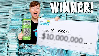 I Spent $1,000,000 On Lottery Tickets and WON