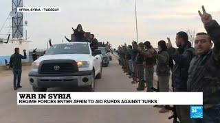 Turkish offensive in Syria: Assad