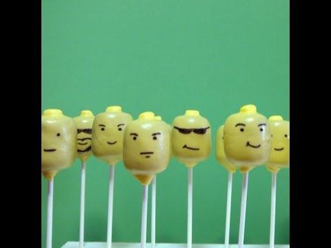 HOW TO MAKE LEGO MEN CAKE POPS