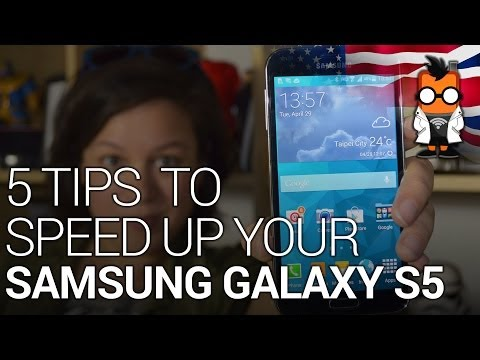5 Tips on Making Your Samsung Galaxy S5 Faster