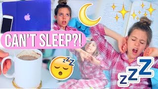 How to Fall Asleep Fast! | 10 Life Hacks for When You CAN