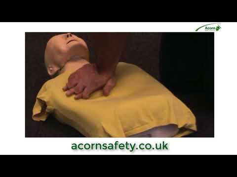 How to do basic CPR first aid training | Acorn Health & Safety