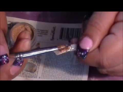 how to make gold acrylic ٩(●̮̮̃•)۶ como aser color oro en acylico