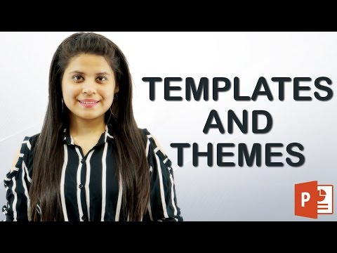 How to Change templates and themes | Hindi Tutorial || Chapter 2 | Video 2