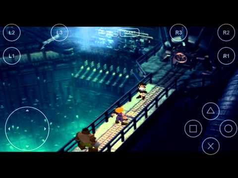 Final Fantasy VII Android Testing