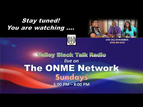 Valley Black Talk Radio - 9-17-17: The end of summer and beginning of fall
