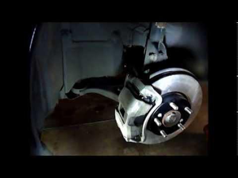 2009 Honda Civic GX Front Brake Pads and Rotor Replacement