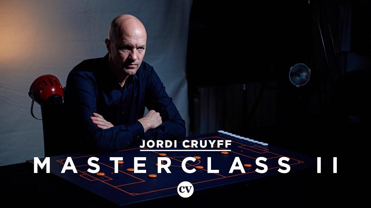 Jordi Cruyff: Manchester United and the 4-4-2 – Masterclass