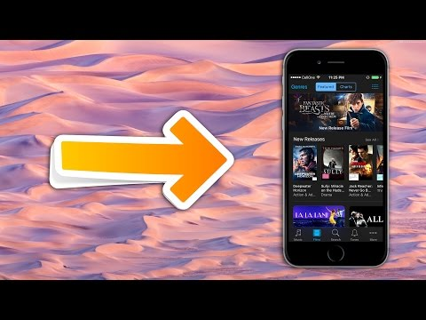 Download Free Movies on Your iPhone Camera roll in Any iOS Version (NO JAILBREAK) | Updated 2018!!