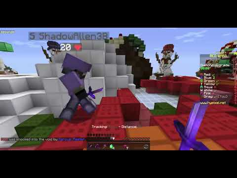 playing bedwars with shadowallen38