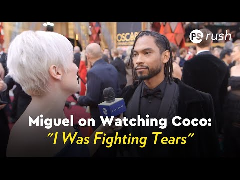 Miguel on Watching Coco: