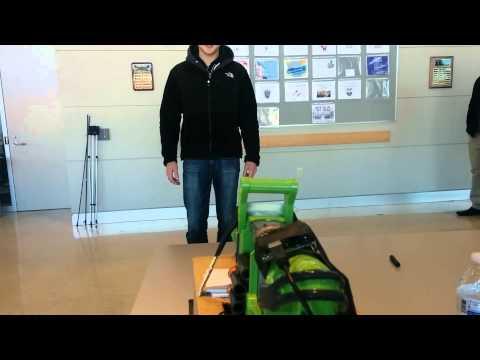 The Kinect Sentry Gun