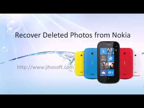 how to recover deleted photos from nokia n8/9, lumia 800/520, etc