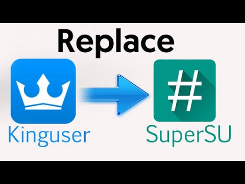 Replace Kinguser to Super SU without laptop