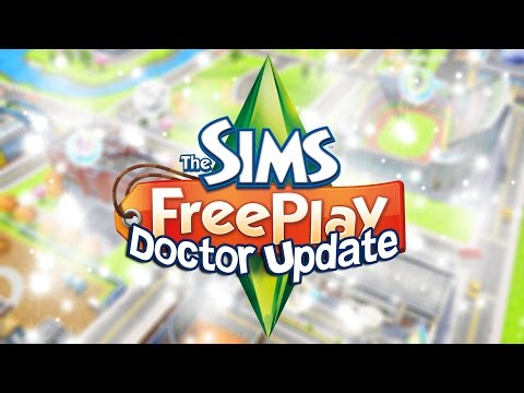 The Sims Freeplay | Doctor Update (Part 1) Hospital Tour