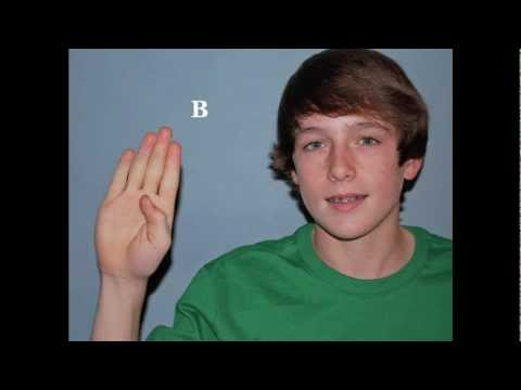 Learning ASL - Signs for Farm Animals
