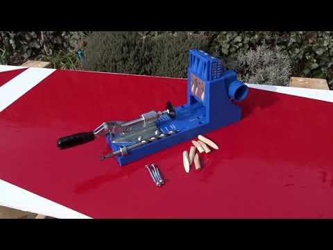 Pocket holes using a Kreg Jig // How To