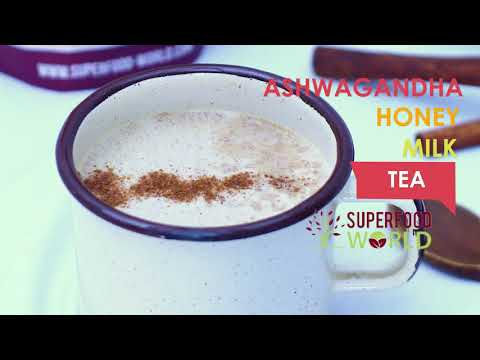 Ashwagandha Honey  Milk Tea Recipe