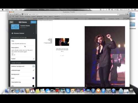 How to create a submit page on tumblr  (Audio Tutorial)