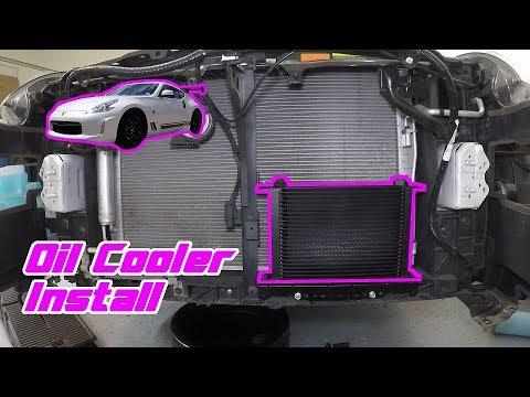 Oil Cooler Install - Detailed Walkthrough on a 370Z