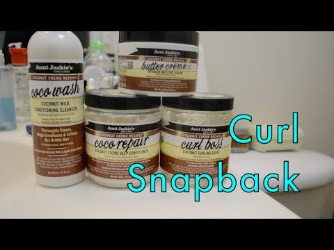 Curls, Coils & Kinks: Curl Snapback ft. Aunt Jackie's Coconut Creme Collection