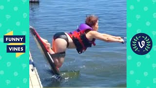 """FACEPLANT! 😂"" 
