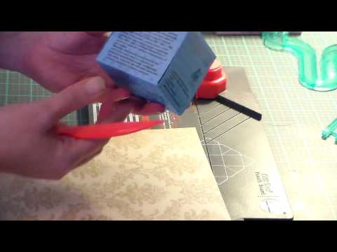 How to Design/Print Bath Bomb Boxes with We R Memories Punch Board Gift Box Maker and my Template